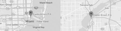 Miami Map Location